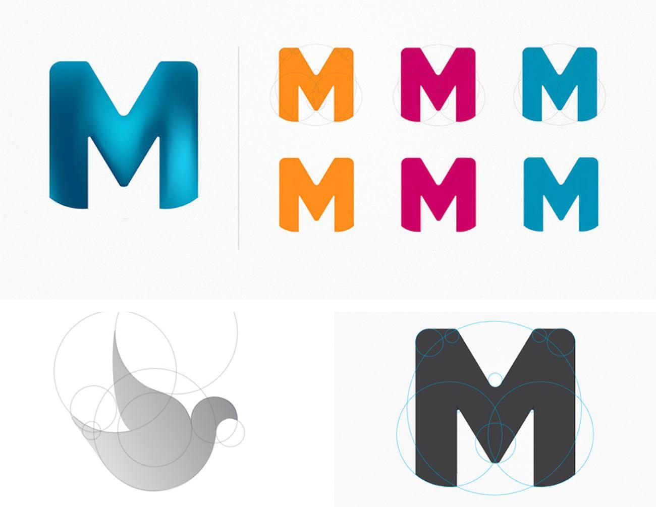 The Golden Ratio in Logo Design.