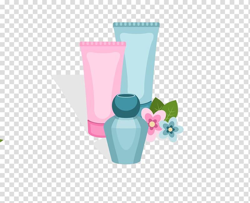 Cartoon Skin care , Women Cosmetics transparent background.