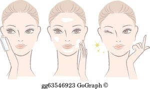 Skincare Clip Art.
