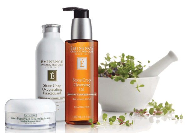 Exclusive skin care products.