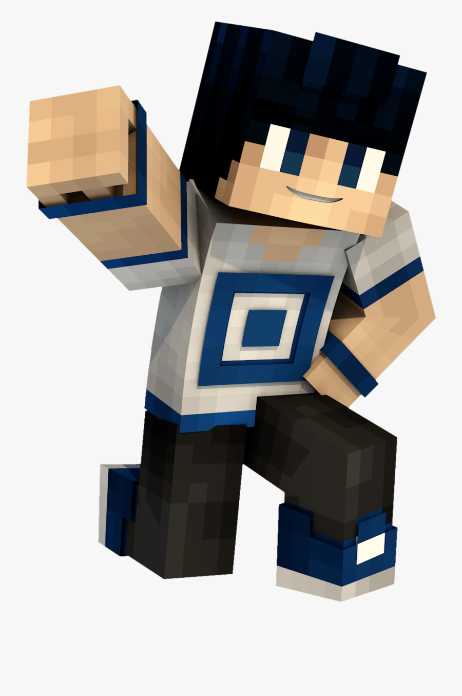 Planet Minecraft Character.