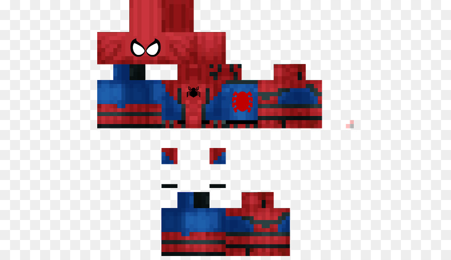 Download Free png Spider Man Minecraft: Pocket Edition Skin.