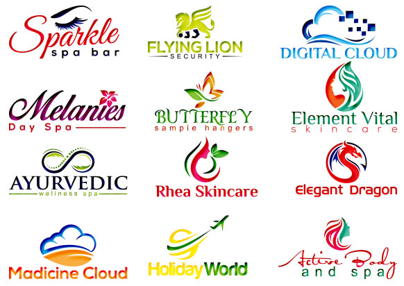 do butterfly skincare fly cloud logo.