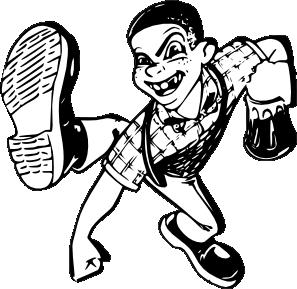 Dancing Skinhead Clip Art at Clker.com.