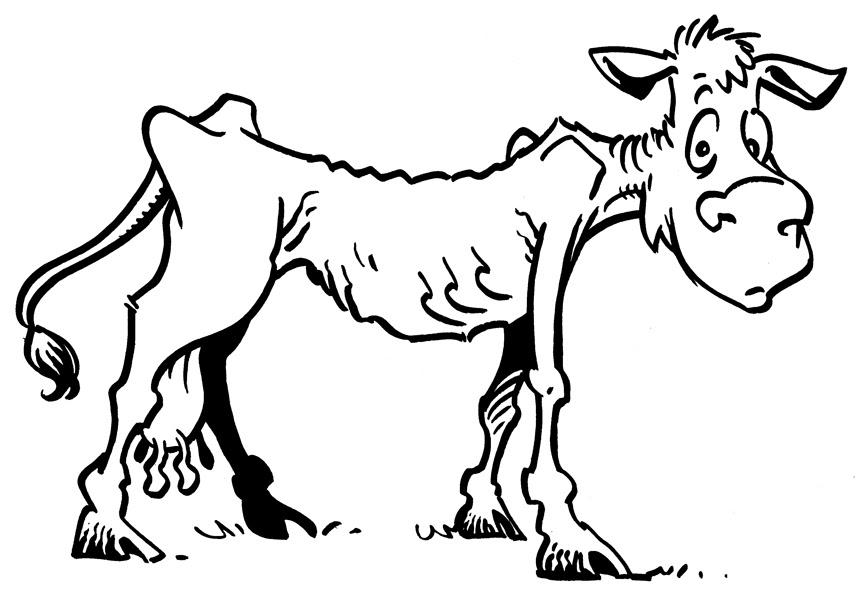 Clipart skinny sheep.