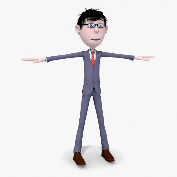 Free Skinny Man Cartoon, Download Free Clip Art, Free Clip.