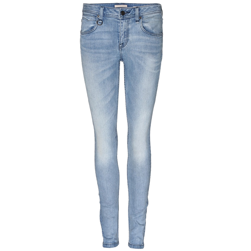Burberry Brit Westbourne Skinny Jeans PNG Image.