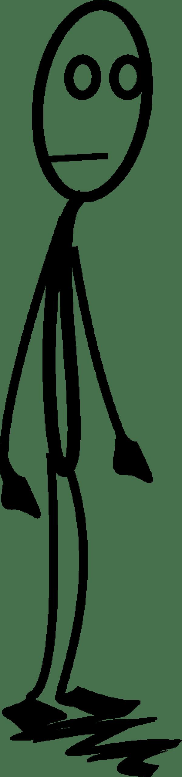 Skinny person clipart 1 » Clipart Portal.