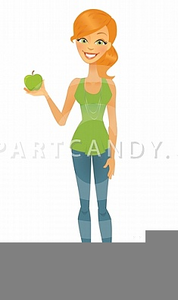 Clipart Of Skinny Person.