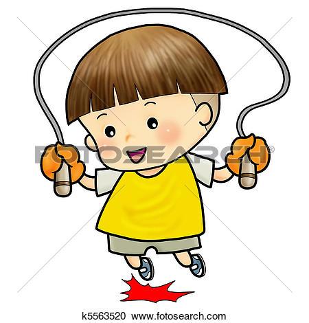Stock Illustration of cute boy walking to school k5563526.
