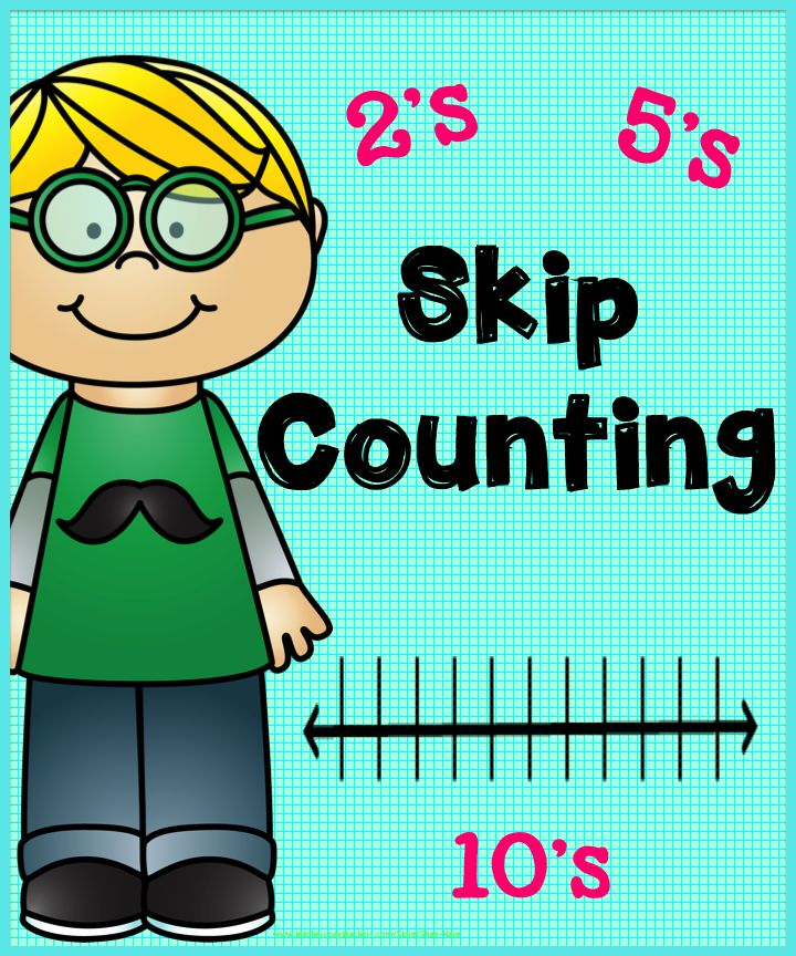 Skip Counting Clipart.