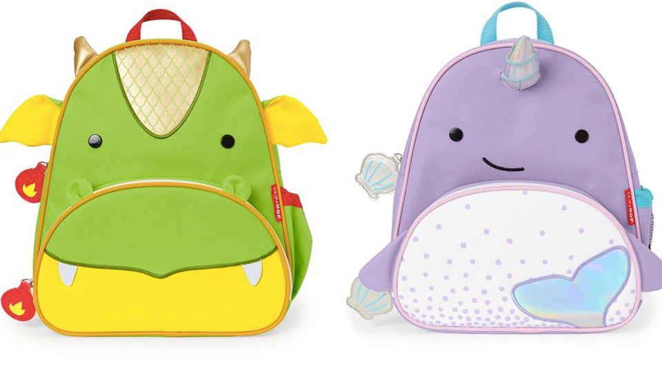 Skip Hop Narwhal & Dragon Backpacks Are Pure Magic *And.