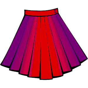 Poodle Skirt Clipart.