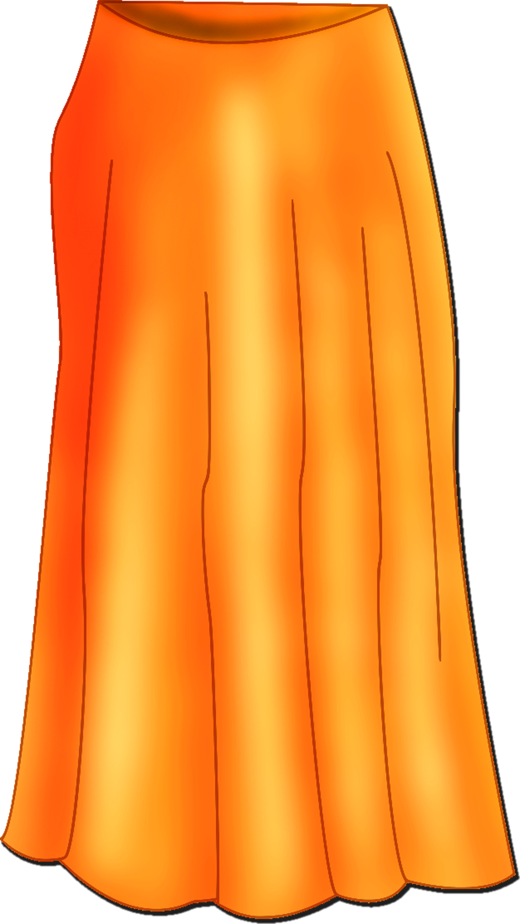 Skirt Clip Art.