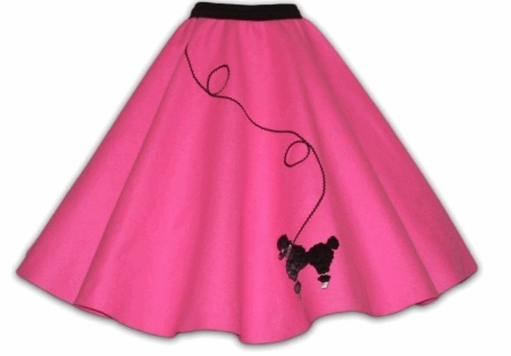Poodle skirt clip art.