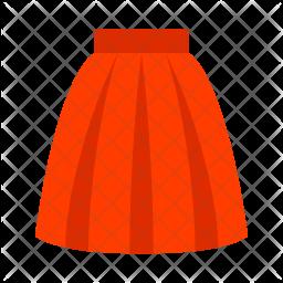 Skirt Icon.