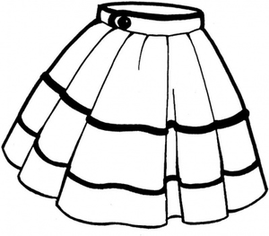 Skirt Clipart Images.