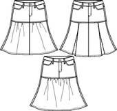 Skirts Clip Art.