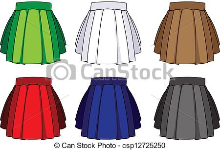 Skirts clipart.