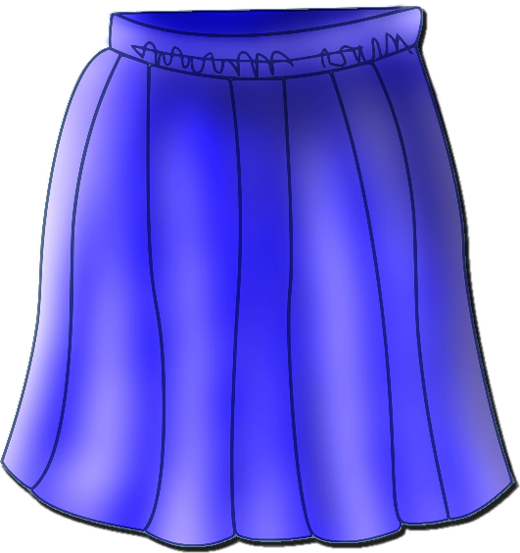 Showing post & media for Skirt clip art cartoon.