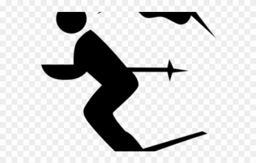 Skiing Clipart Ski Man.