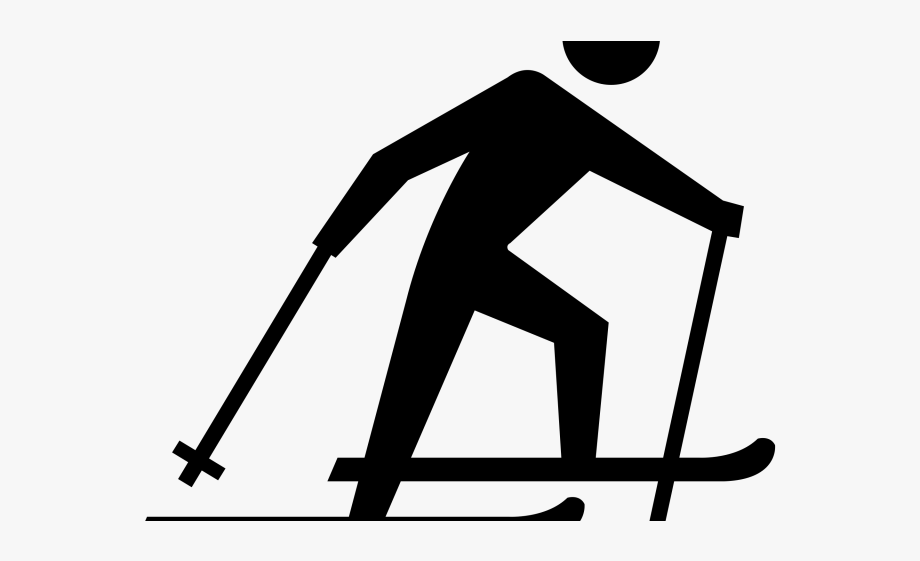 Skiing Clipart Nordic Skiing.