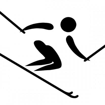 Skiing Clip Art Download.