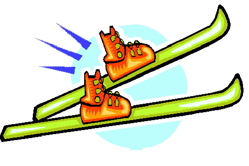 Skis clipart.