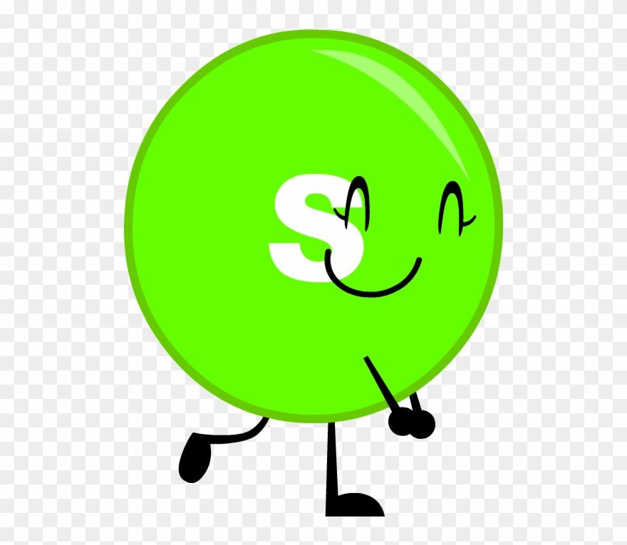 Green Clipart Skittle.
