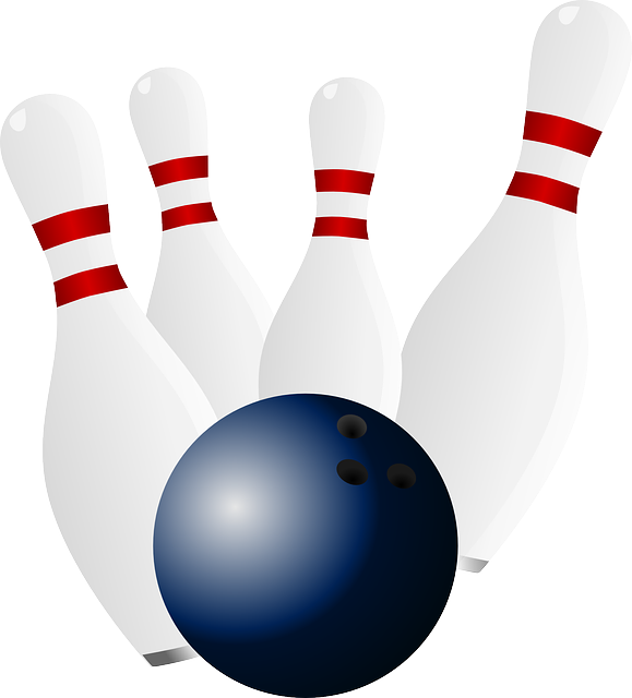 Free photo Sports Bowling Bowl Pins Skittles Ball Gaming.