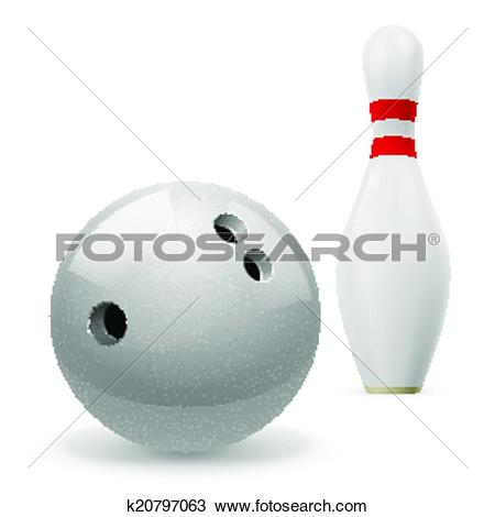 Clipart of Skittle with ball k20797063.