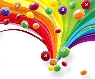 Skittles clip art.