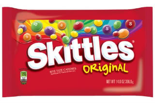 Skittles Candy Clipart.