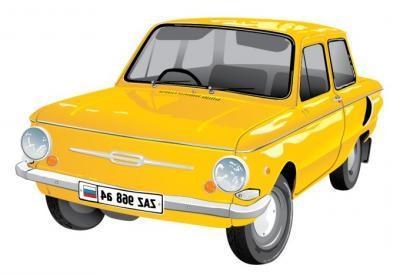 Skoda Car clip art Free Vector.