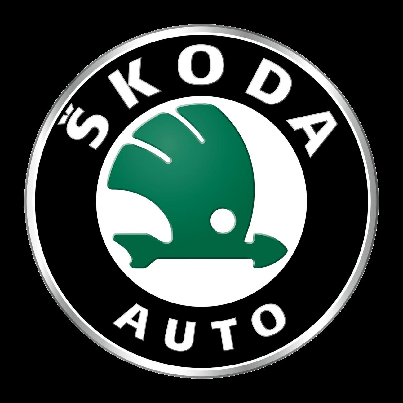 Skoda Logo transparent PNG.