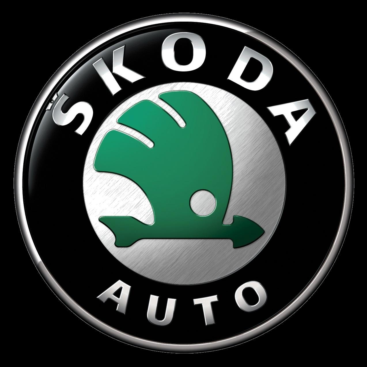 Skoda Auto Logo PNG Image.