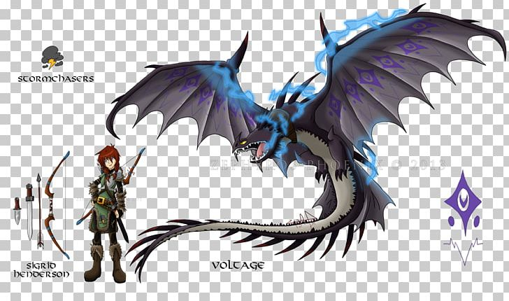 How To Train Your Dragon Toothless Skrill Drawing PNG.