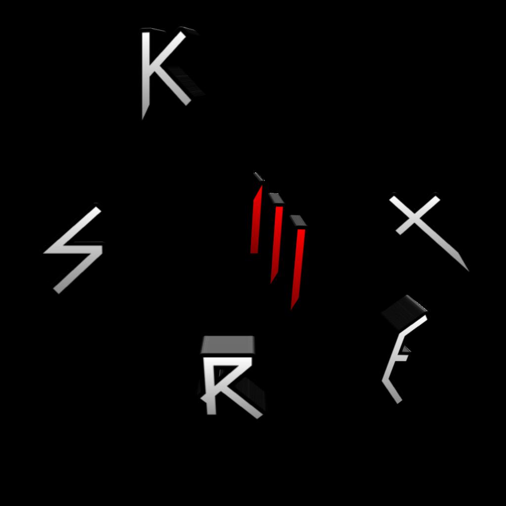skrillex logo 3d Sonny_masse_u.