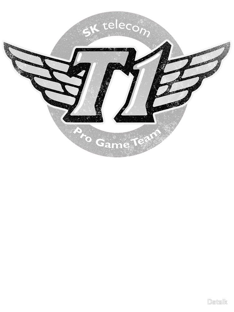SKT T1 Vintage Logo (best quality ever).