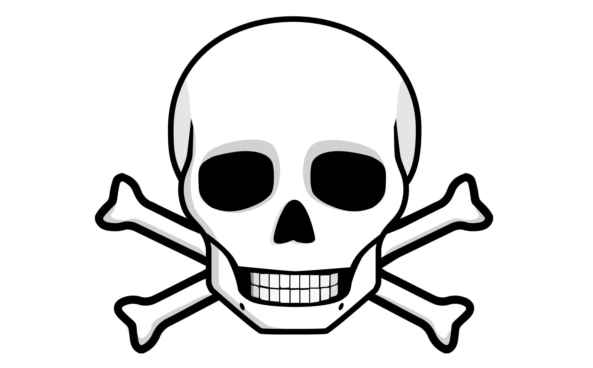 Free Skull And Bones, Download Free Clip Art, Free Clip Art.