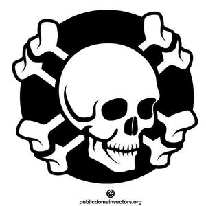 17062 pirate skull and crossbones clip art free.