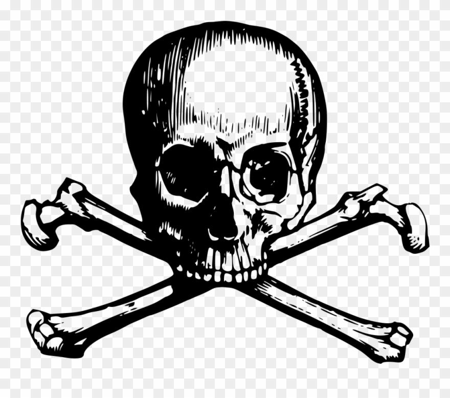 Skull And Crossbone Clipart Webweaver.
