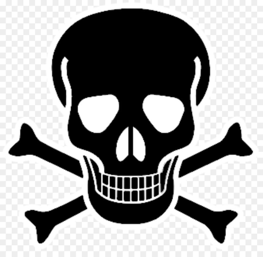Skull And Crossbones png download.