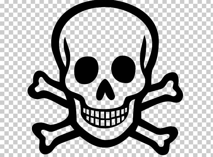 Poison Computer Icons Symbol Skull And Crossbones PNG.