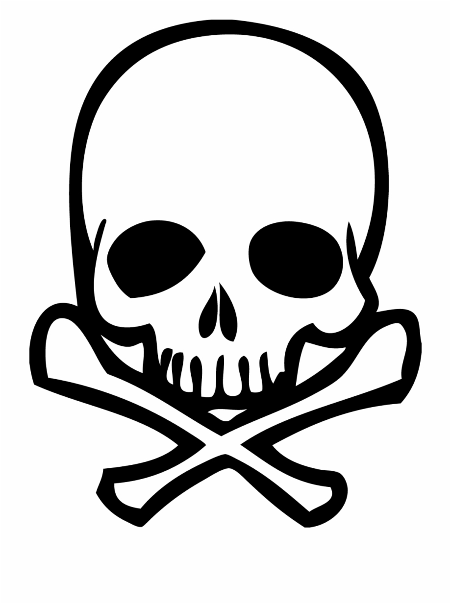 Skull And Crossbones Transparent Background.