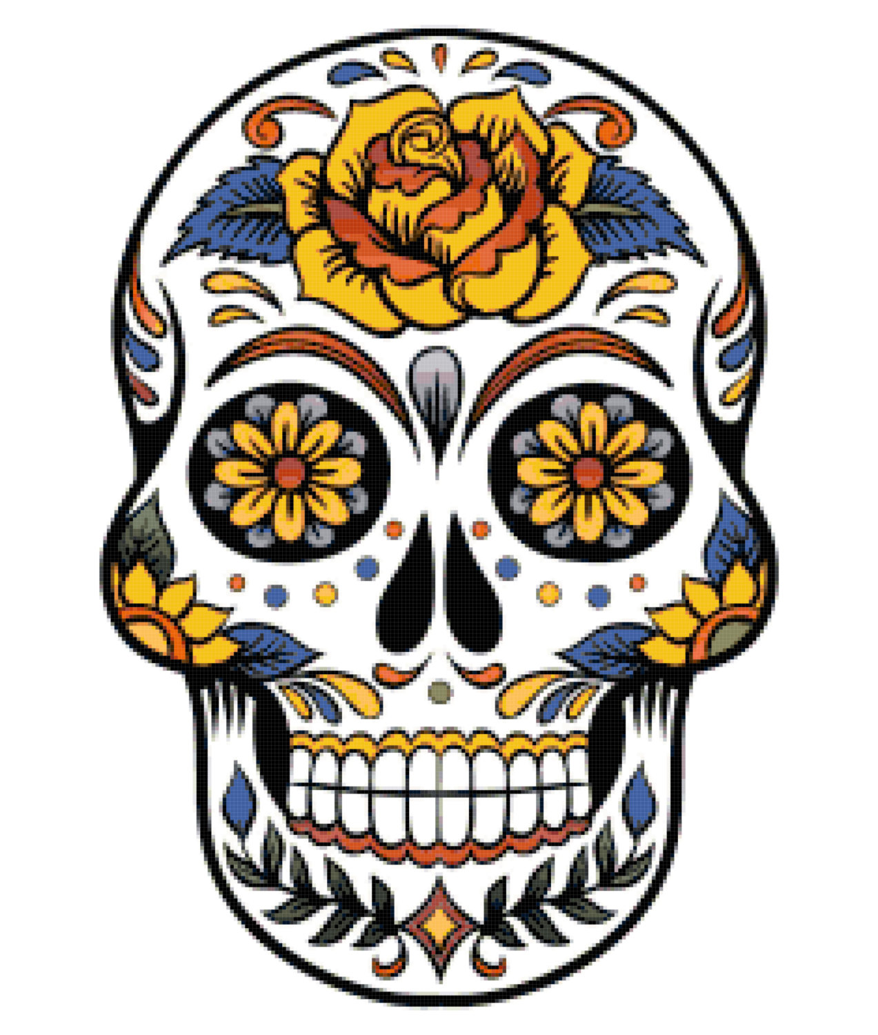 Free Mexican Skull Cliparts, Download Free Clip Art, Free.