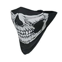 Skull Face Bandana.