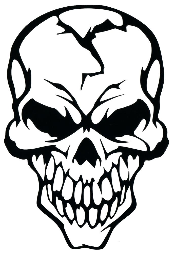 Cute Skull Clipart.