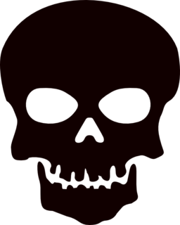 Skull Clipart For Stencils.