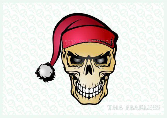 Christmas Skull.